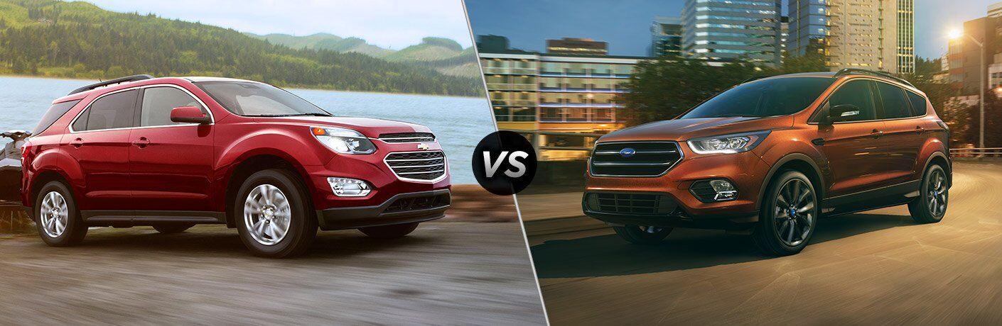 2017 Chevrolet Equinox vs 2017 Ford Escape