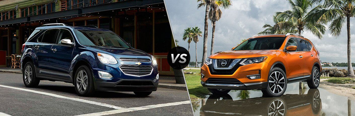 2017 Chevrolet Equinox vs 2017 Nissan Rogue
