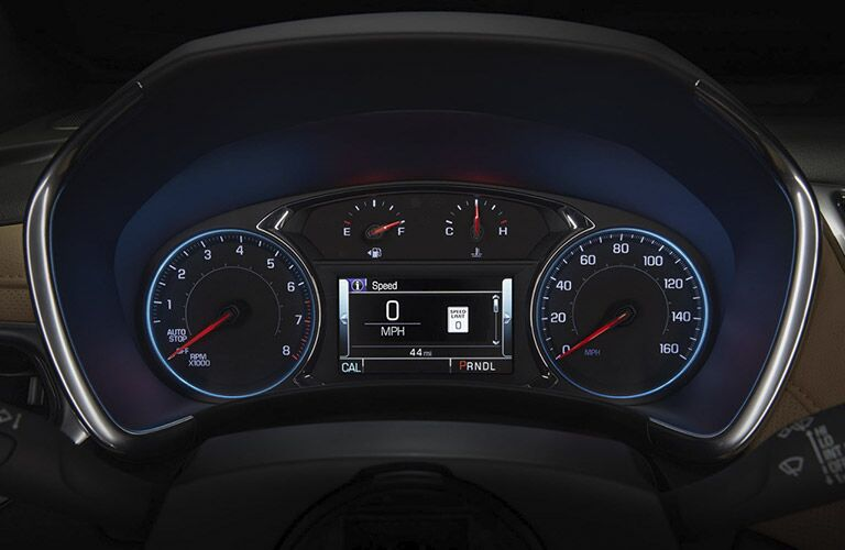 2018 Chevrolet Equinox front interior instrument panel