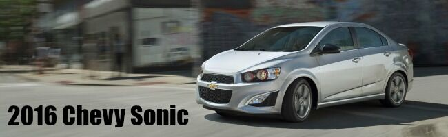 2016 Chevy Sonic Richmond KY