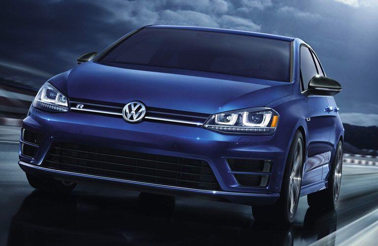 The distinctive R design is one thing that differentiates in the 2015 Volkswagen Golf GTI vs 2015 Volkswagen Golf R comparison.