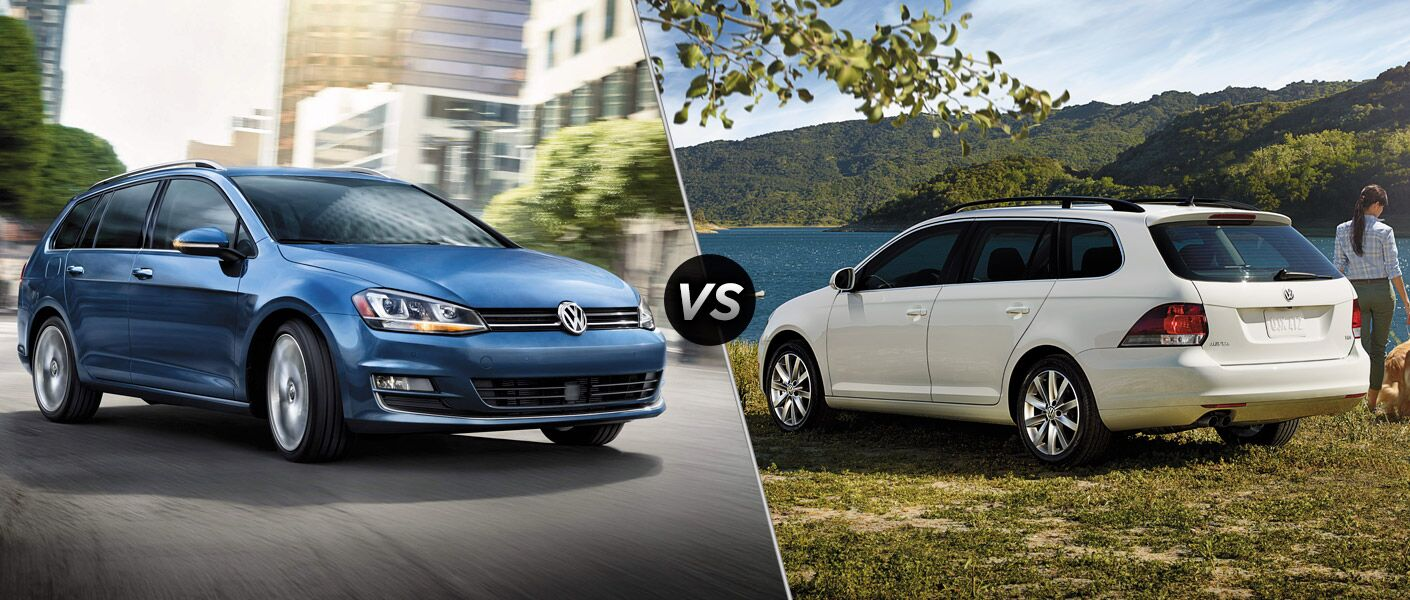 When it comes to the 2015 Volkswagen Golf SportWagen vs 2014 Volkswagen Jetta SportWagen, what has changed?