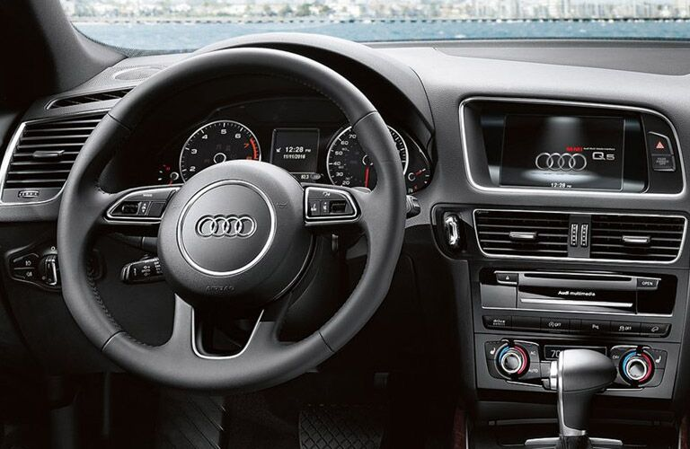 2016 audi q5 interior technology and features
