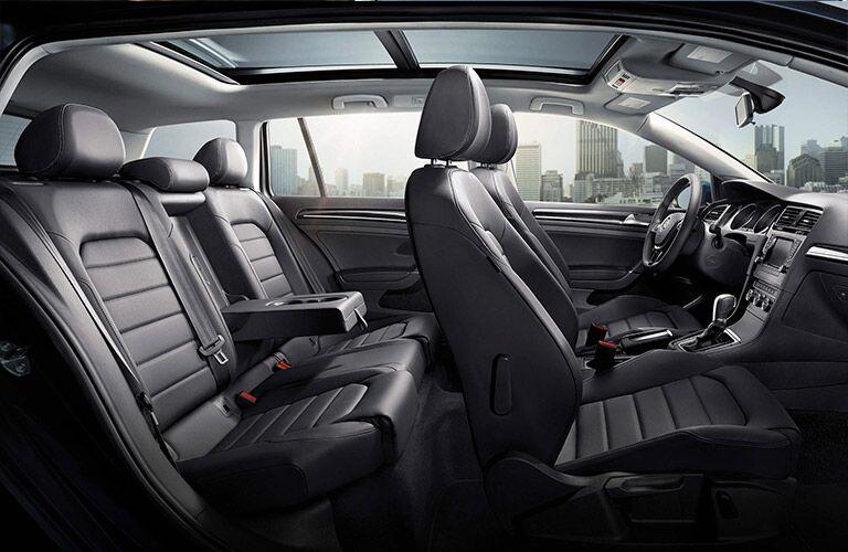 2016 Volkswagen Golf SportWagen V-Tex leatherette upholstery