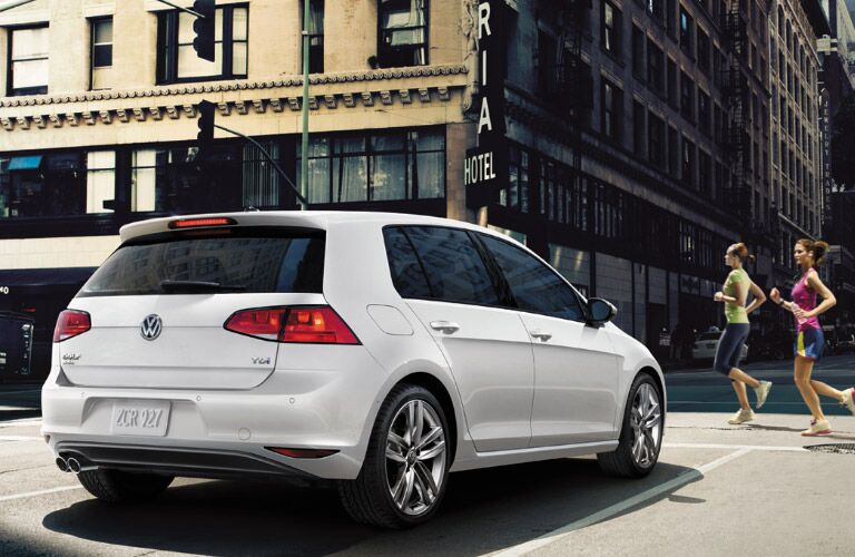 2016 Volkswagen Golf hatchback exterior