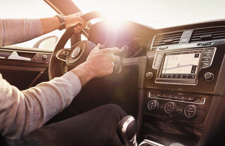 2016 Volkswagen Golf GTi Dashboard