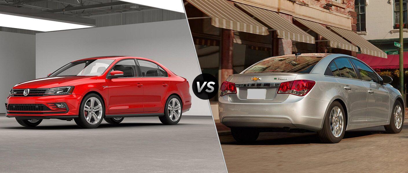 2016 Volkswagen Jetta vs 2016 Chevy Cruze Limited