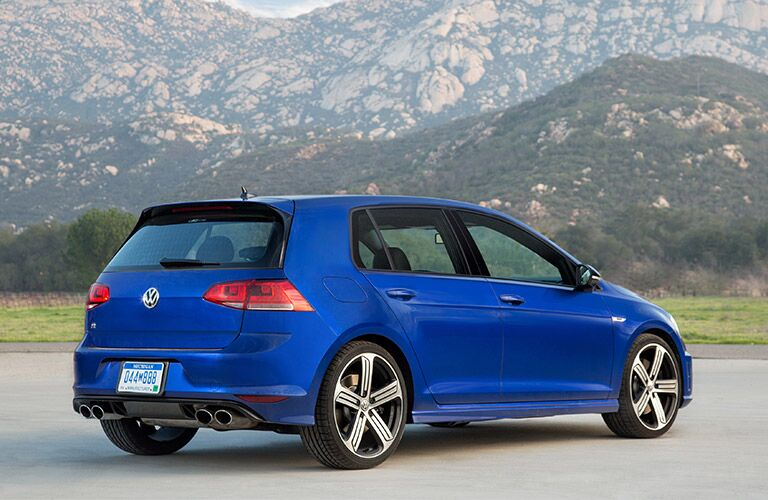 2016 VW Golf R Hatchback body style