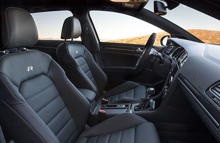 2016 Volkswagen Golf R Logo Leather Seats