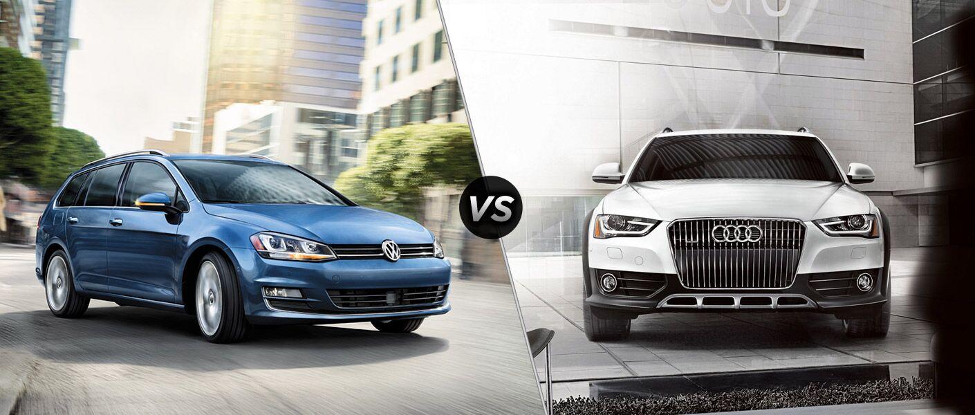2016 Volkswagen Golf SportWagen vs 2016 Audi Allroad