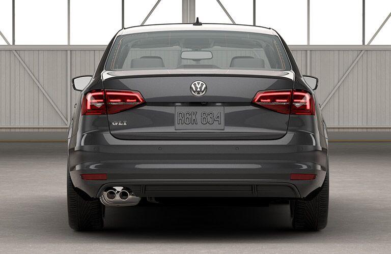 GLI Rear bumper in the 2016 Volkswagen Jetta GLI