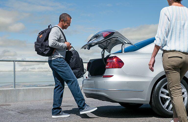 2016 Volkswagen Passat Easy Release Trunk