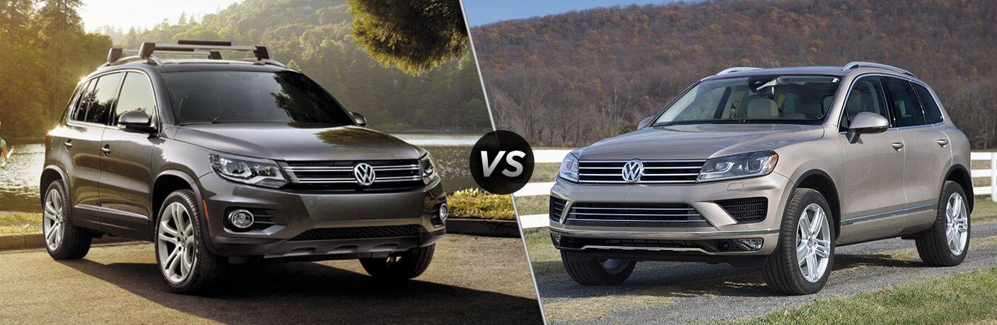 2016 Volkswagen Tiguan vs 2016 Volkswagen Touareg