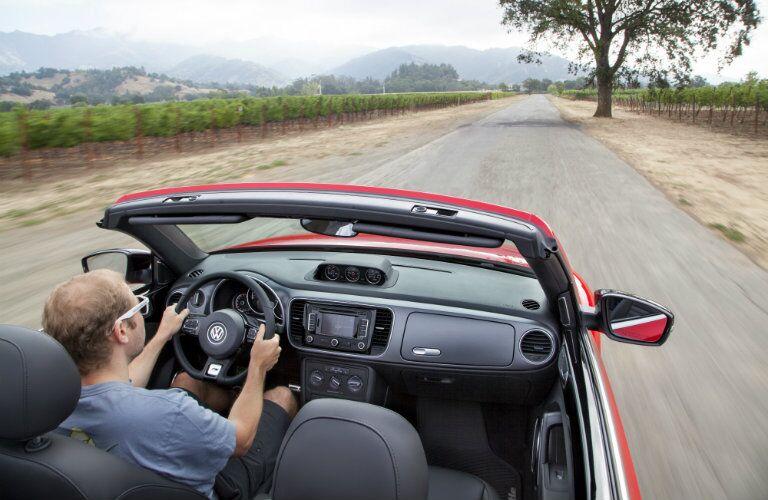 2016 Volkswagen Beetle Convertible Glendale CA R-Line Top Down