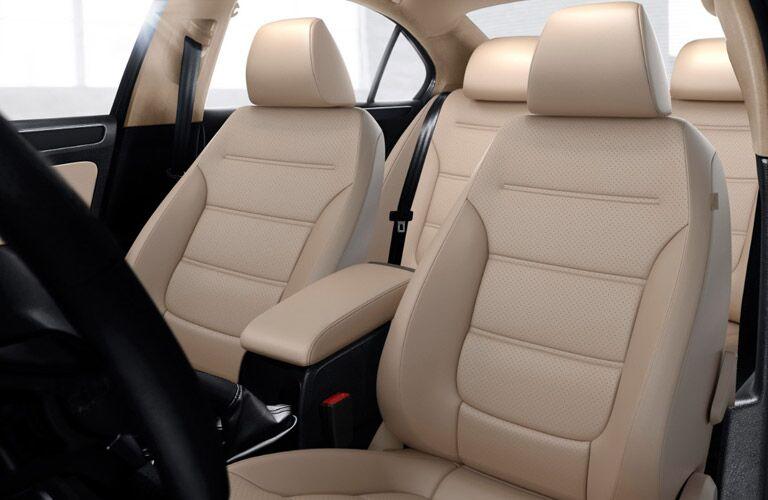 2017 Volkswagen Jetta Beige Leatherette
