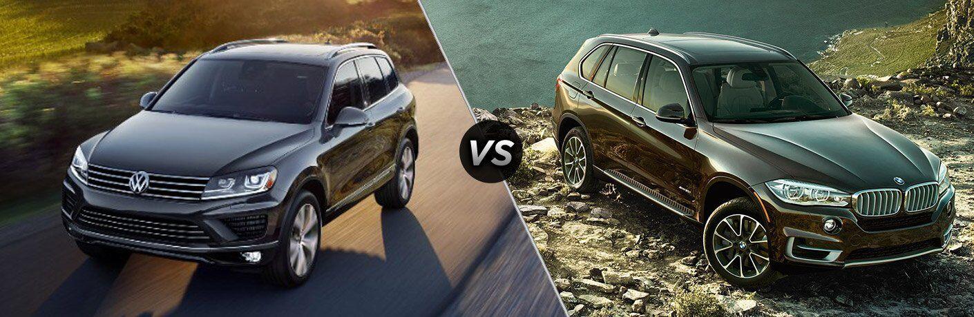 2017 Volkswagen Touareg vs 2017 BMW X5