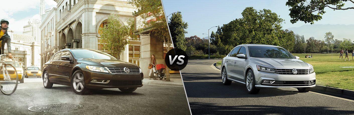 2017 Volkswagen CC vs 2017 Volkswagen Passat