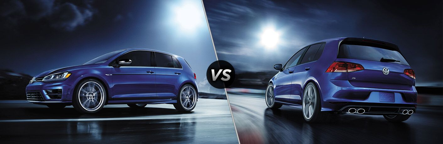2017 Volkswagen Golf R vs 2017 Volkswagen Golf R with DCC and Navigation