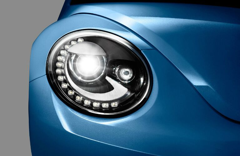 2017 Volkswagen Beetle Blue Metallic with LED headlights