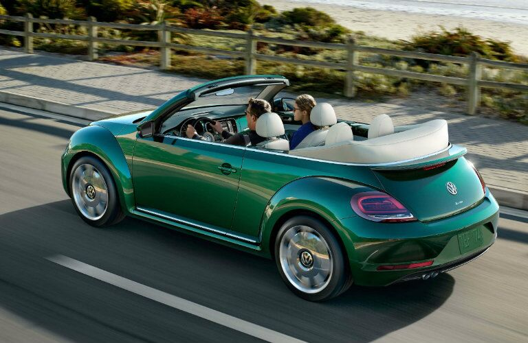 2017 Volkswagen Beetle Convertible Bottle Green