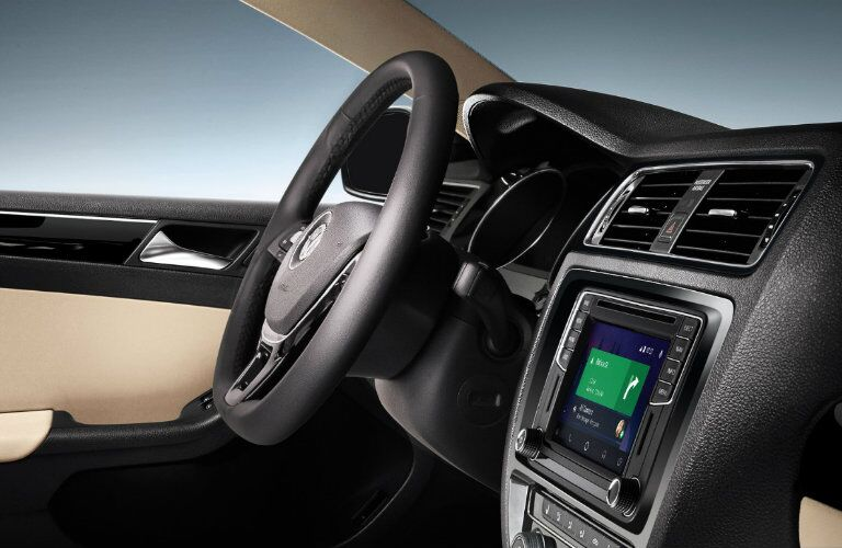 2017 VW Jetta Interior and infotainment