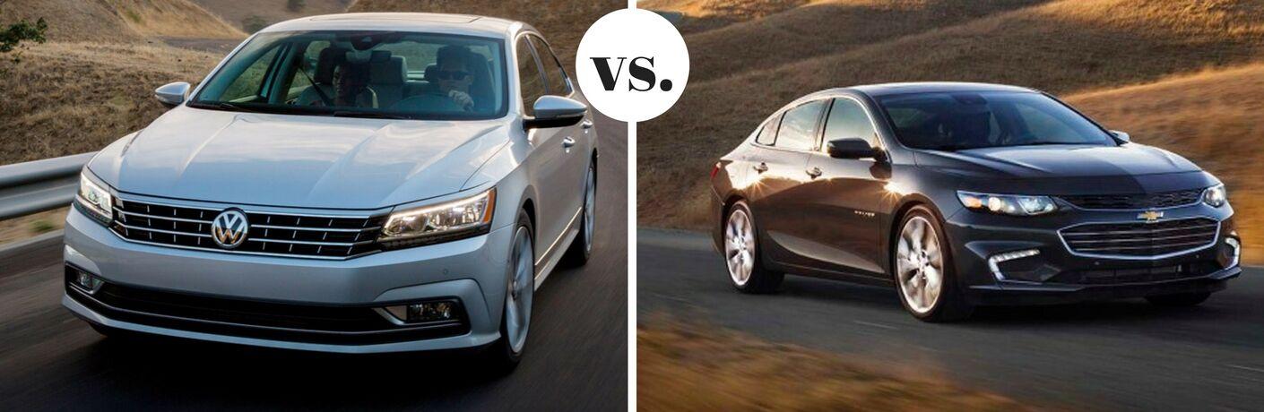 2017 Volkswagen Passat vs 2017 Chevrolet Malibu