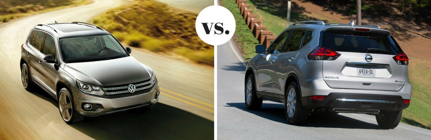 2017 Volkswagen Tiguan vs 2017 Nissan Rogue