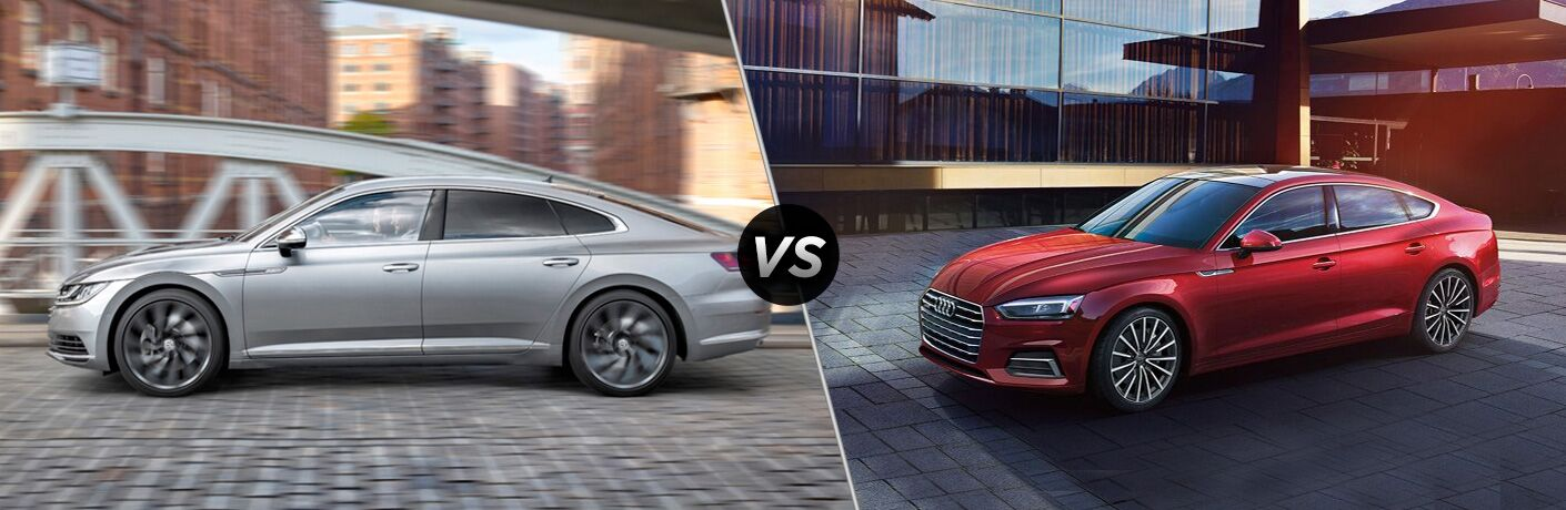 2019 Volkswagen Arteon vs 2018 Audi A5 Sportback