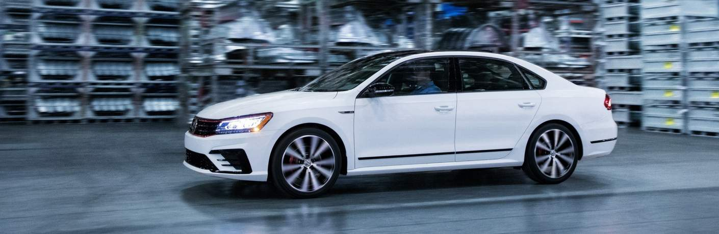 2018 Volkswagen Passat GT in Pure White in warehouse