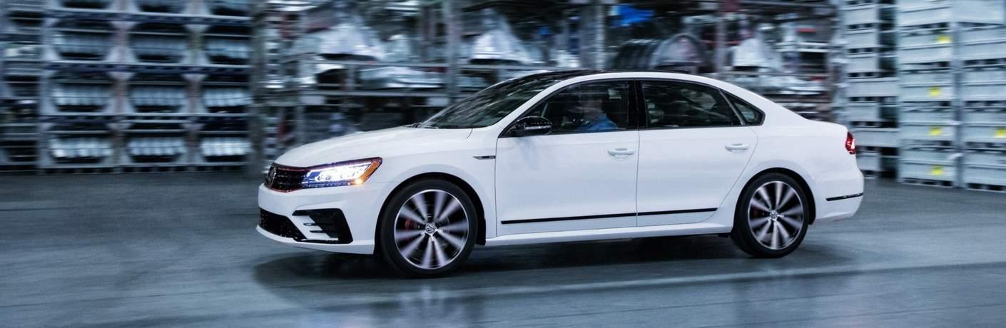 2018 Volkswagen Passat GT in Pure White in warehouse