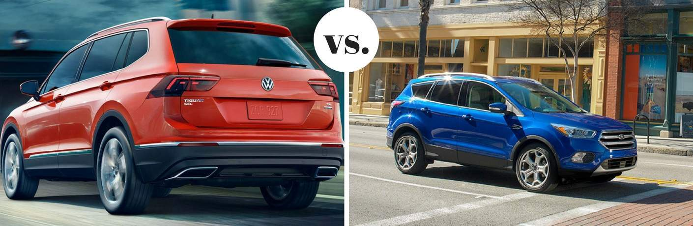 2018 Volkswagen Tiguan vs 2017 Ford Escape