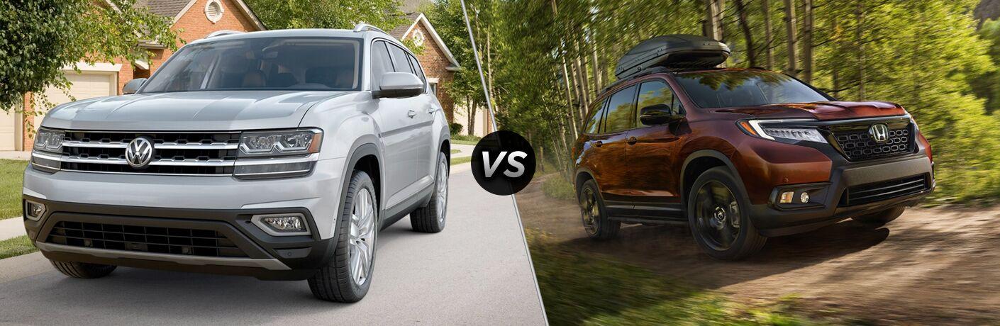 2019 Volkswagen Atlas vs 2019 Honda Passport