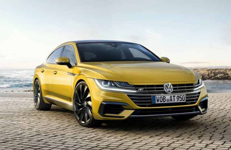 2019 Volkswagen Arteon by the water