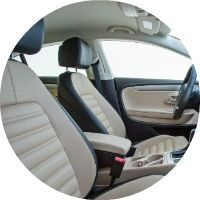 2016 Volkswagen CC Two Tone Leatherette Upholstery