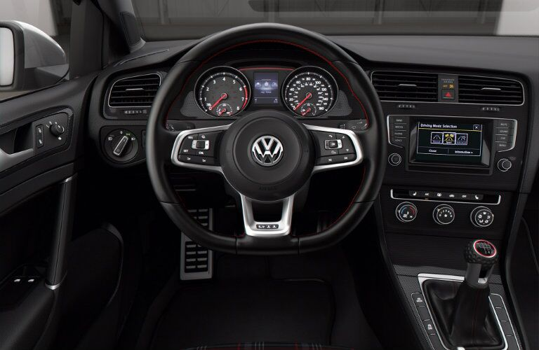 Intuitive controls make driving the 2015 Golf GTI Glendale CA fun and easy