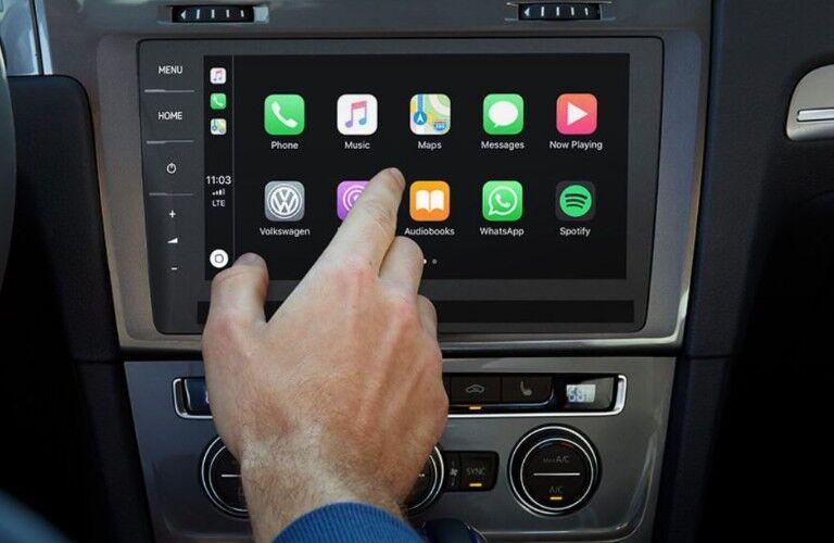 touch screen in 2019 Volkswagen e-Golf