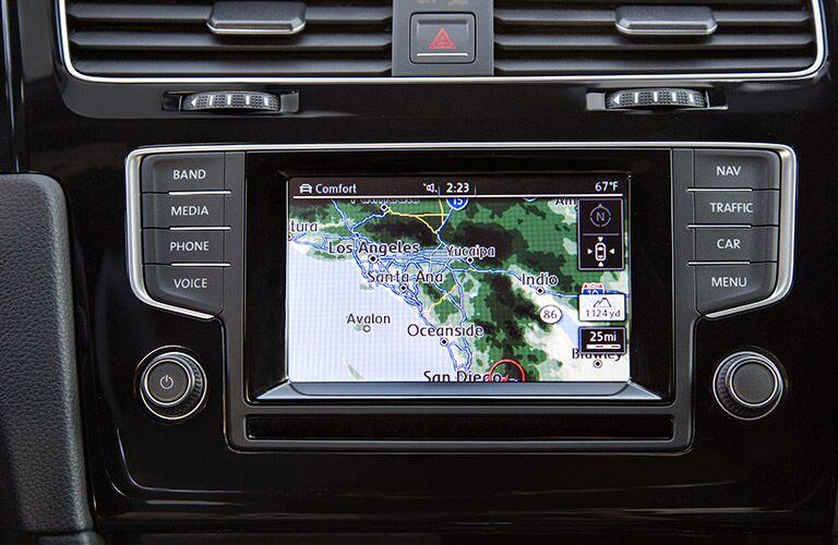 2016 VW Golf R Folsom CA navigation