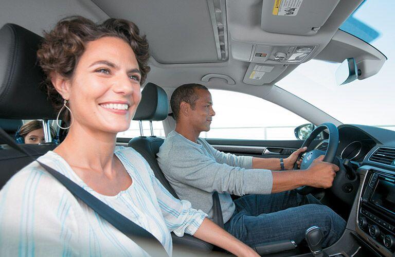 2016 VW Passat passenger in front seat_o