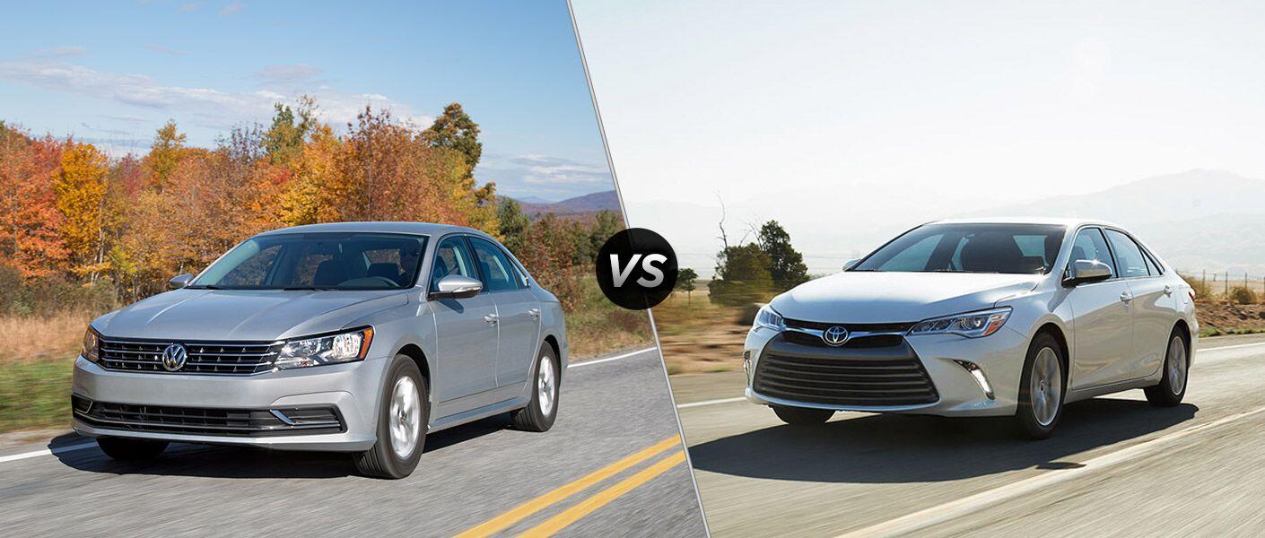 2016 Volkswagen Passat vs. 2016 Toyota Camry Models