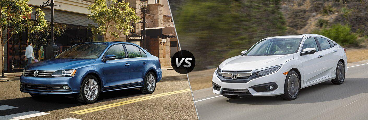 2017 Volkswagen Jetta vs 2017 Honda Civic