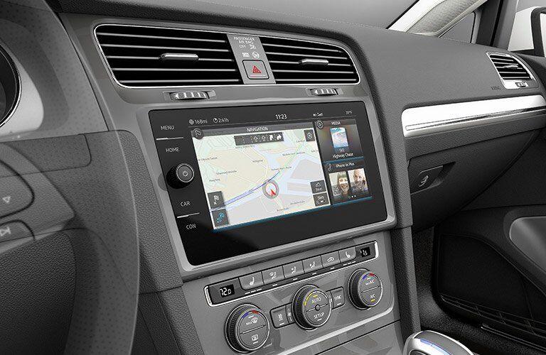 2017 Volkswagen e-Golf navigation