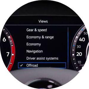 2018 Tiguan Digital Cockpit