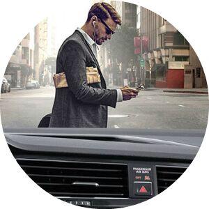 2018 Tiguan Pedestrian Monitoring