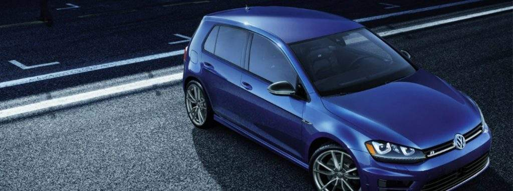2017 Volkswagen Golf R in parking lot