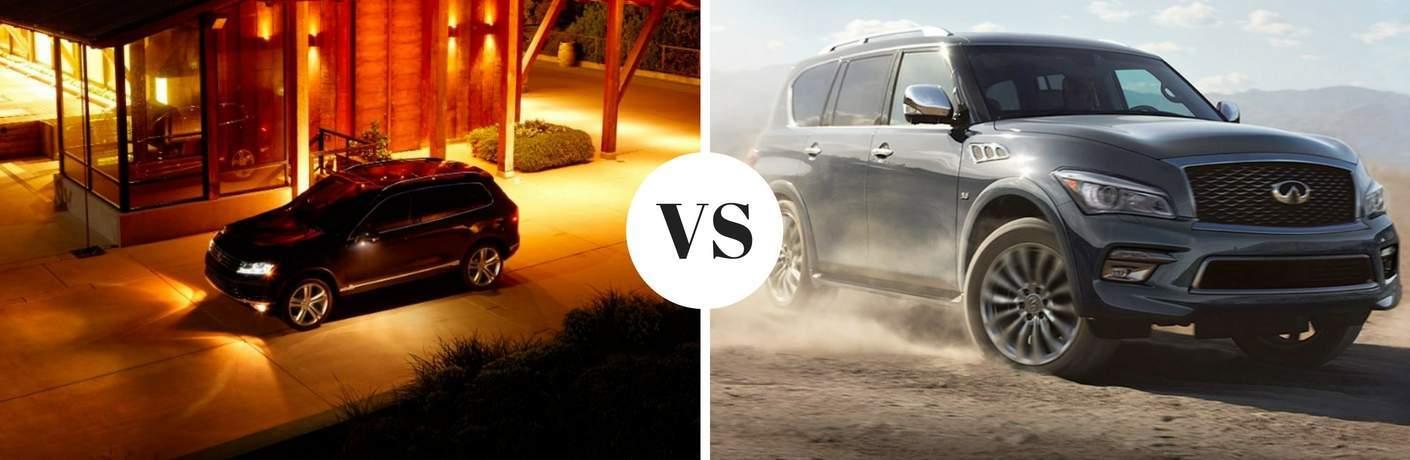 2017 Volkswagen Touareg vs 2017 INFINITI QX80