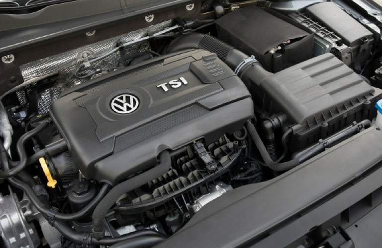 TSI engine of 2018 Volkswagen Golf SportWagen