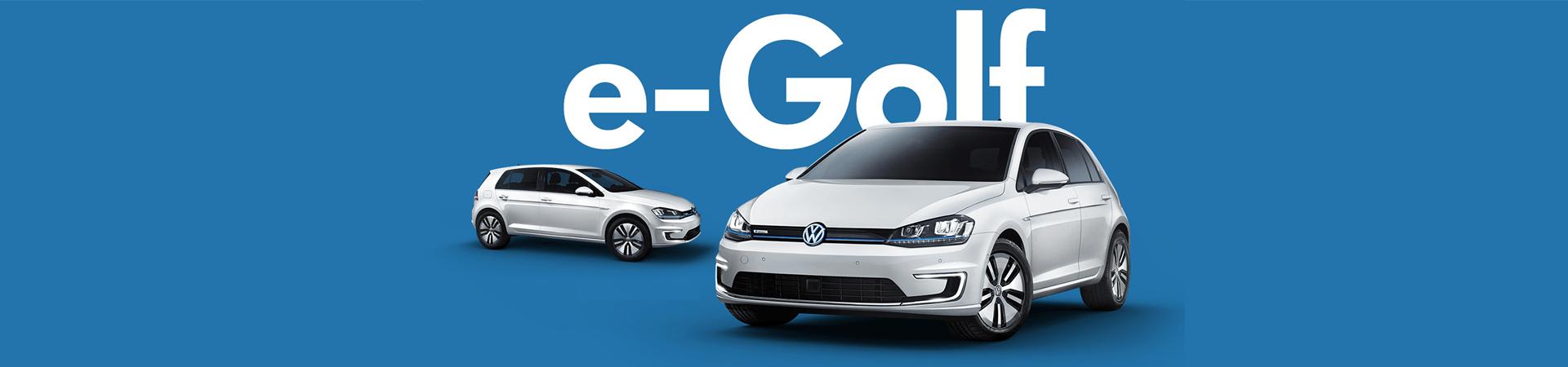 Volkswagen e-Golf Header Image