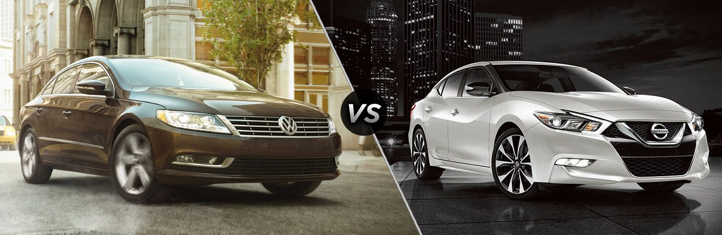 2017 volkswagen cc vs 2017 nissan maxima. Black Bedroom Furniture Sets. Home Design Ideas