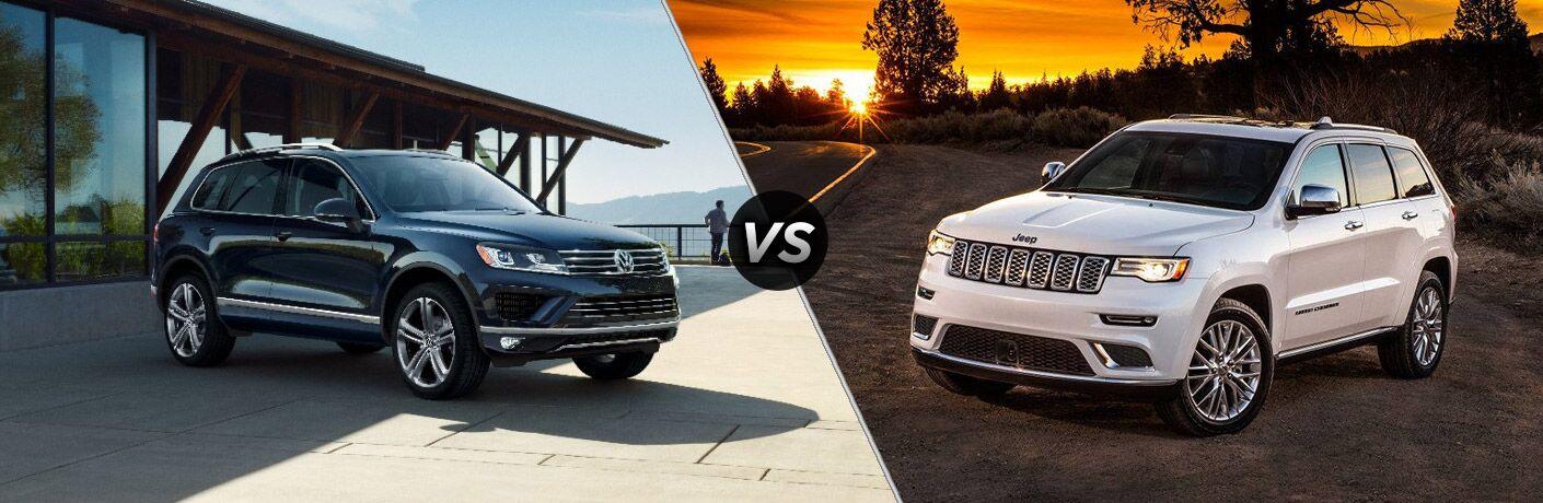 2017 Volkswagen Touareg vs 2017 Jeep Grand Cherokee