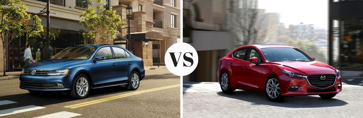 2017 Volkswagen Jetta vs 2017 Mazda3